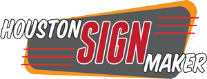 Houston Sign Maker Logo