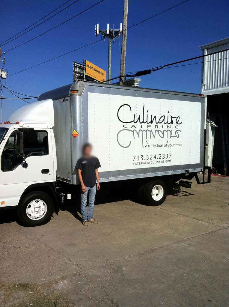 Awesome car and truck wraps maker in houston for Culinaire