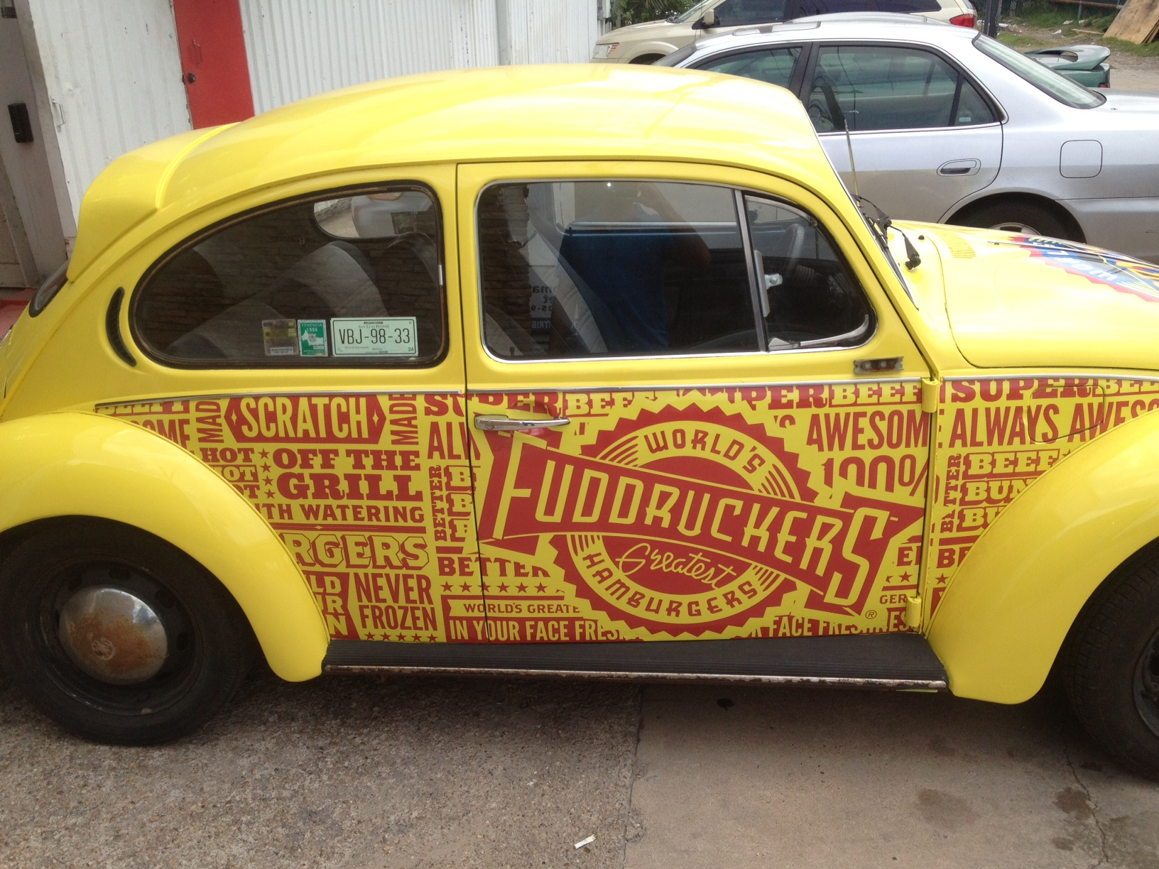 Fuddruckers Bettlebug Car