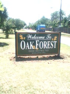 Oak Forest Subdivision
